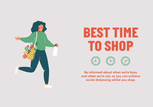 Best time to shop!