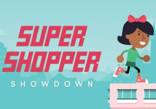 Congratulations Super Shopper Showdown winners