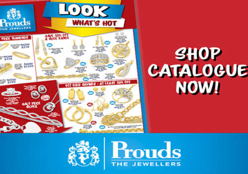 Sale now on at Prouds!